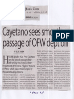 Manila Times, July 29, 2019, Cayetano sees smooth passage of OFW dept bill.pdf