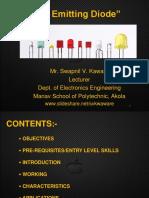 LED Seminar ppt  by, Er. Swapnil V. Kaware