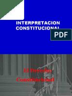 INTERPRETACION CONSTITUCIONAL- 1