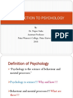 Introduction to Psychology (1)