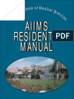 Aiims Residents Manual