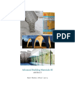 Abstract on building materials