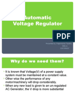 Automatic voltage captions regulator