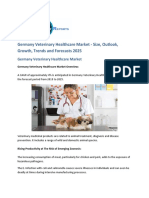 Germany Veterinary Healthcare  Market Size, Share, Insights, and Growth | Forecast 2025