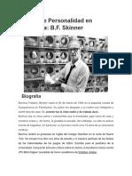 Biografia Skiner