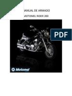 Manual de Armado Rider