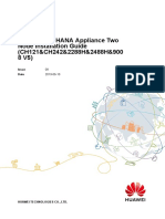 Huawei SAP HANA Appliance Two Node Installation Guide (CH121&CH242&2288H&2488H&9008 V5) 08