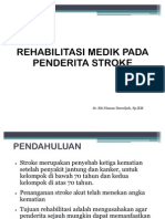 Rehabilitasi Pada Stroke