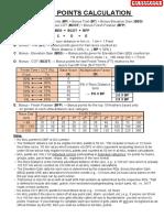 MUL Calculation 2018
