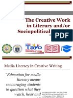 Creative Writing and Other Work