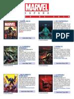 MARVEL AGE 43 Catálogo Marvel