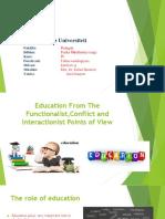 sociologicalperspectivesoneducation-161115200614