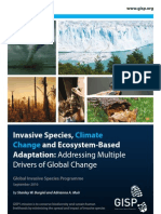 Invasive Species, Climate Change and Ecosystem-Based Adaptation