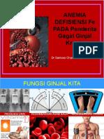 Anemia Defisiensi Fe Pada Penderita Gagal Ginjal Kronis.ppt