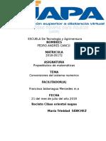 Asignación 2 Propedéutico de Matemáticas