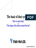 Basic of Duct Systems