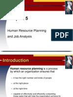 HRP & Job Analysis