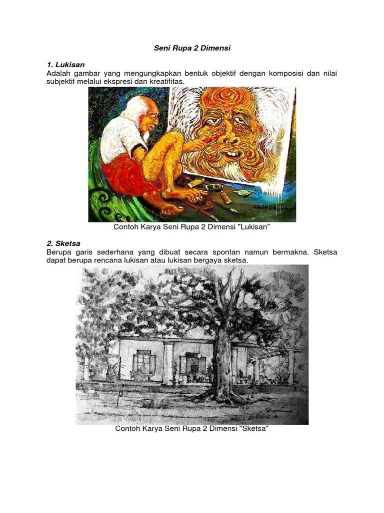 Gambar Modifikasi Seni Rupa 2 Dimensi Seni Rupa 2 Dimensi