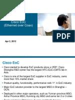 Cisco EoC Introduction