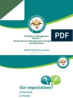 HRM & Organizational Communication 2014-1(1)