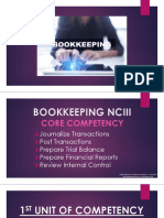 Bookkeeping Core 1