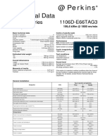 Perkins 1106D Technical Data