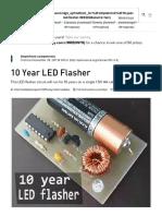 10 Year LED Flasher - Hackster.io