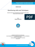 Bahan ajar Teknik bertanya pembelajaran.pdf