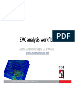 EMC Analysis Workflow