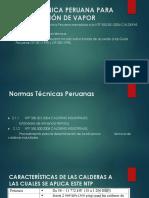 Norma Técnica Peruana Para La Generación de Vapor