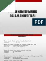 Presentasi Ketua Komite Medik 2017