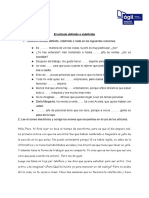 El Artículo Definido o Indefinido (1)