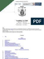 Gambling Act 2003 No 51 _(as at 07 July 2010_), Public Act – New Zealand Legislation