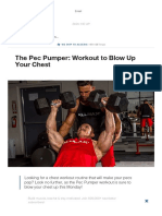 The Pec Pumper_ Workout to Blow Up Your Chest