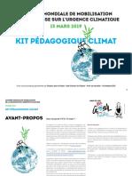 KIT PEDAGOGIQUE CLIMAT