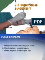Manajemen Airway Dan Breathing Management