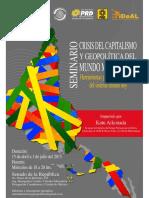 Cuadernillo Crisis Del Capitalismo y Geopoliticoa Del Mundo Multipolar