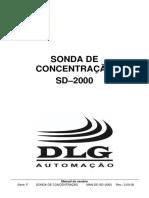 Sonda Concentração - SD2000
