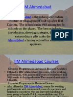 IIM Ahmedabad Courses, Eligibility, Fee Structure, Admission Criteria, Placements