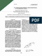 IDENTIFICATION OF 2CMETHYLENELOPHENOL FROM HEARTWOOD OF AZADIRACHTA ZNDICA