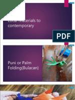 Contemporary Art Techniques Docx