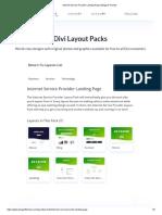 Internet Service Provider Landing Page _ Elegant Themes