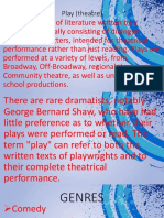 Play (Theatre)Contemporary