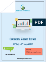 The Grs Solution Weekly Commodity Research Report 29 July 2019