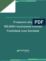 11 Reasons Why Freshdesk is Better Than Zendesk