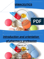 introduction and orientation of pharmacy profession.pptx