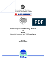 Mineral Deposits and Mining Districts of Serbia (2)