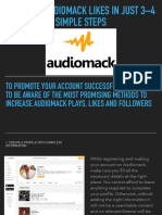 Increase Audiomack Likes in Just 3–4 Simple Steps
