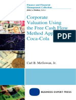 (Finance and financial management collection) McGowan, Carl-Corporate valuation using the free cash flow method applied to Coca-Cola-Business Expert Press (2015)-1.docx