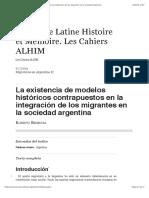 La existencia de modelos históricos contrapuestos en la integración de los migrantes en la sociedad argentina.pdf